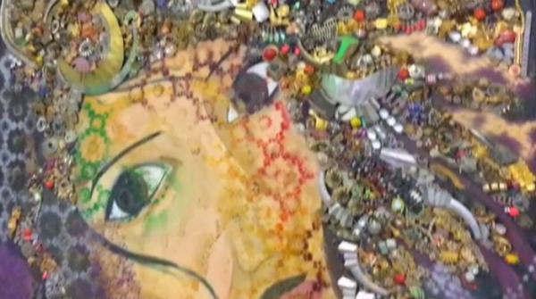 Balochistan university students exhibit artwork on women's progress, identity