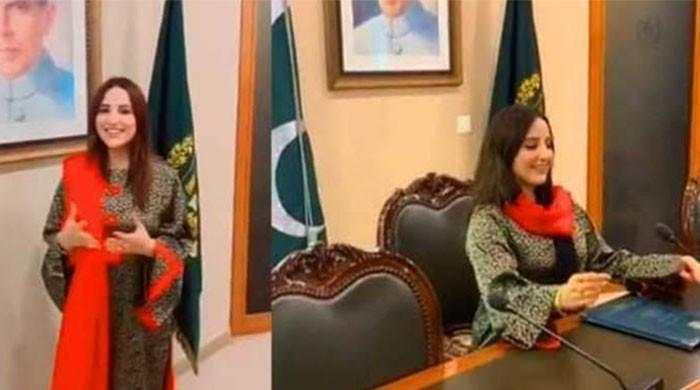 Tik Tok star Hareem Shah wanted to meet this politician during her visit to the MoFA