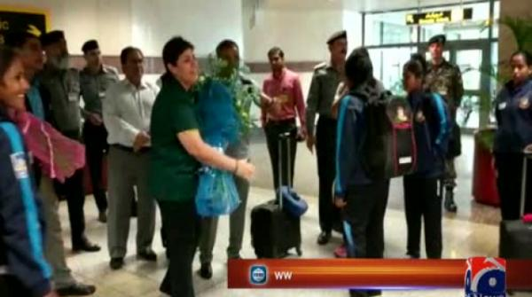 Bangladesh women team arrives in Pakistan for limited-overs series