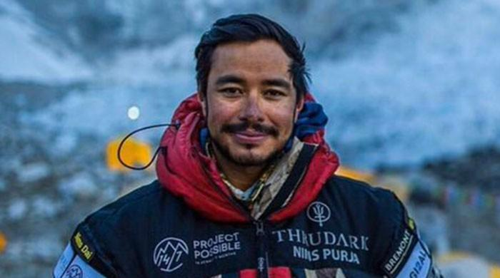 Nepali climber claims new speed record for world's 14 highest peaks