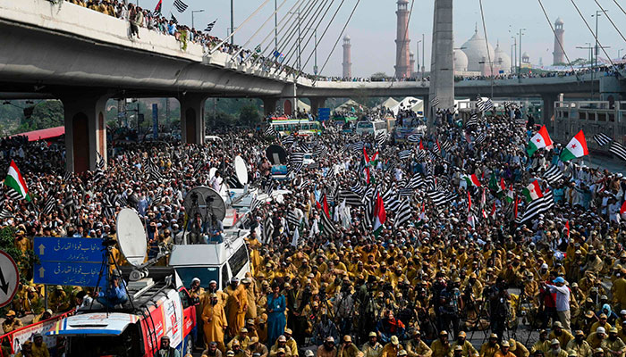 Protesters March On Islamabad To Demand Prime Minister's Resignation