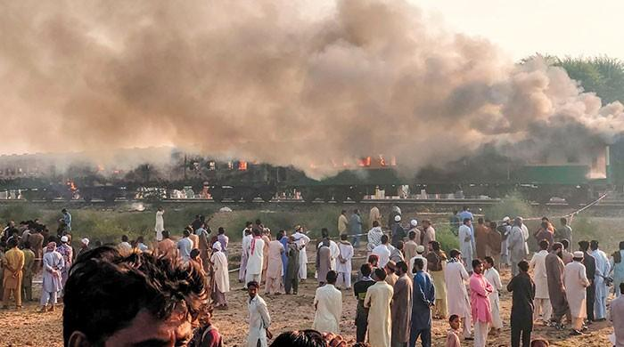 Death toll from Tezgam train fire climbs to 74