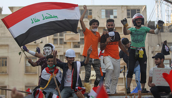 Outside the Nest: Iraqi people protest corrupt government, shut roads down