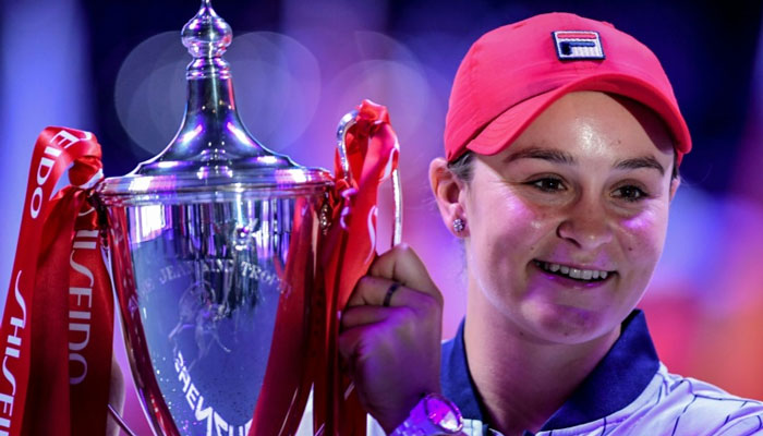Ashleigh Barty dominant force in women's tennis after season to remember
