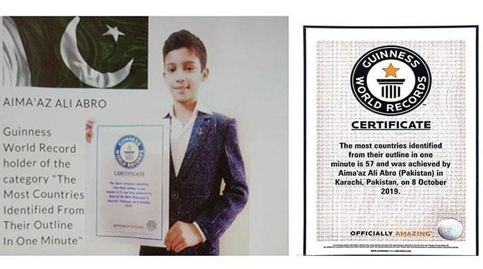 11-year-old Pakistani boy sets new Guinness World record