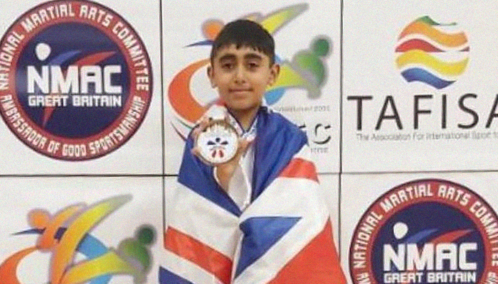 Young British Pakistani wins in World Martial Arts Championship