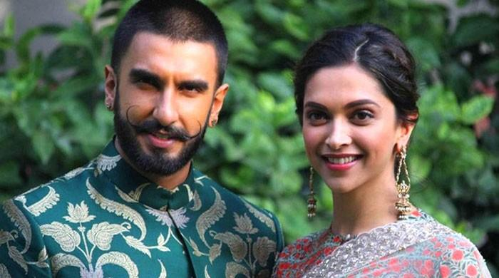 Deepika Padukone, Ranveer Singh's seek Divine blessings on first anniversary