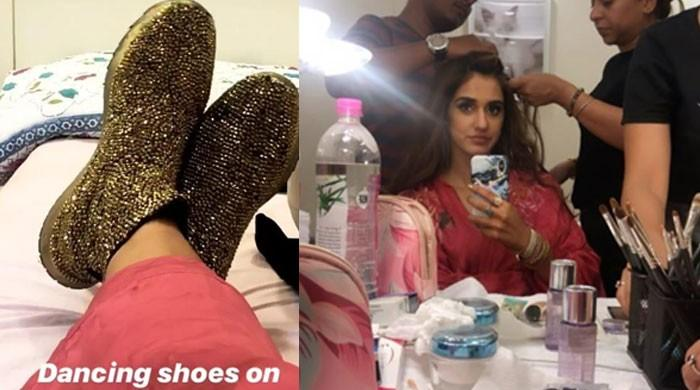 Disha Patani unveils BTS from Salman Khan's 'Radhe'