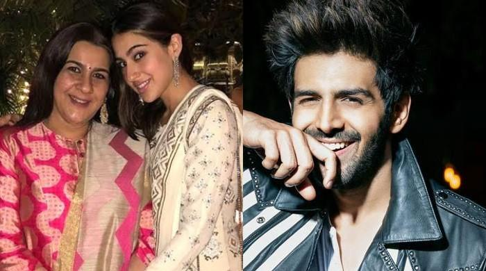 Kartik Aaryan and Sara Ali Khan leave Amrita Singh worried