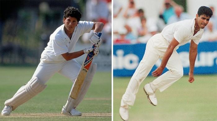 On this day in 1989: Waqar, Tendulkar make contrasting Test debuts in Karachi