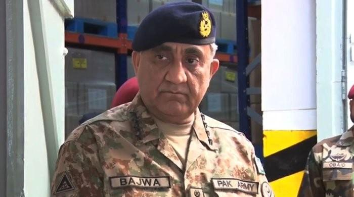 COAS General Qamar Bajwa lauds FC's contributions in bringing stability in KP