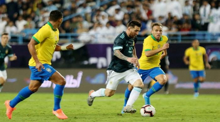 Messi sinks Brazil after Argentina comeback