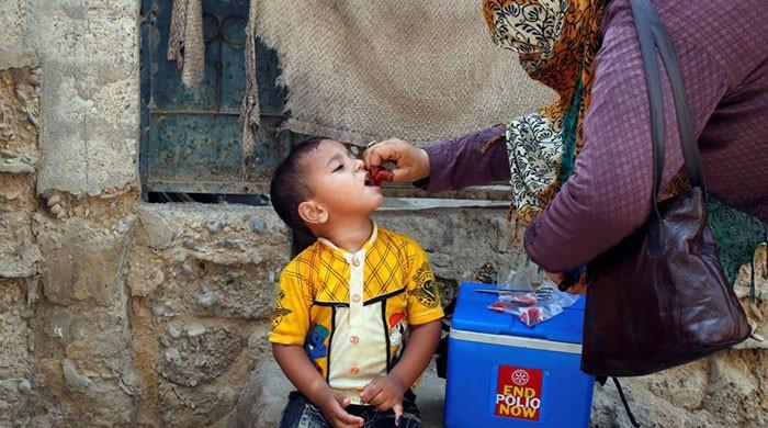 Three new polio cases emerge in KP, bringing year's total to 64