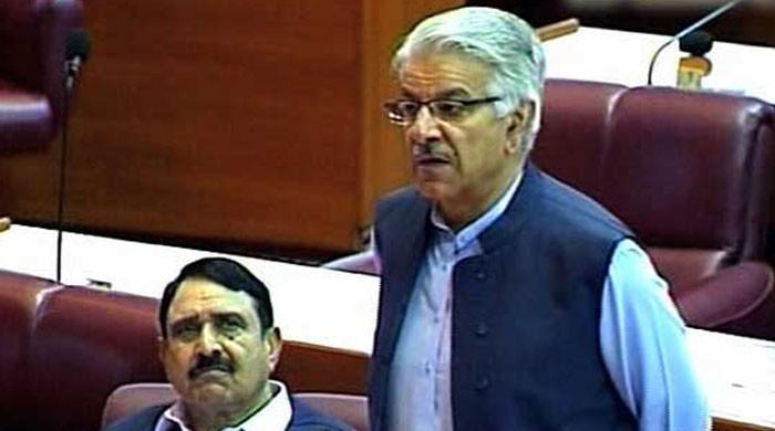 Privilege motion submitted against Khawaja Asif in National Assembly