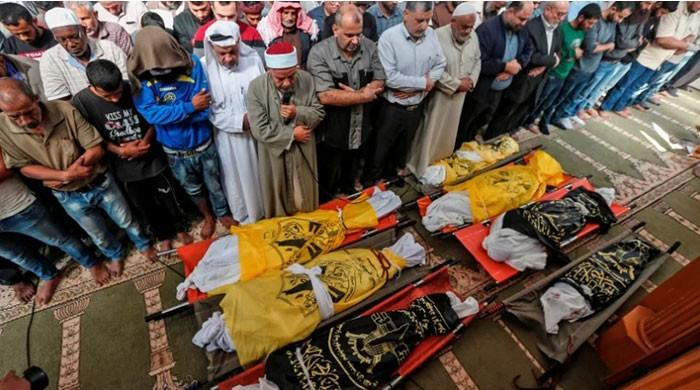 Israeli military admits to martyring eight members of Palestinian family 'by mistake'