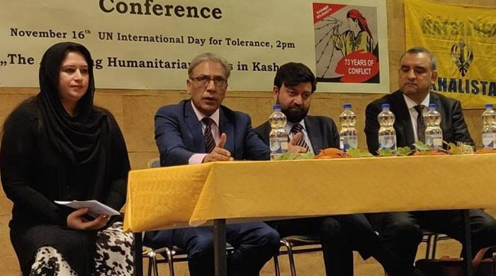 Stuttgart: Kashmir conference urges world not to ignore rights abuses in occupied Kashmir