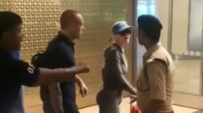 Watch: Katy Perry ignores airport official's repeated demands, walks in without showing passport