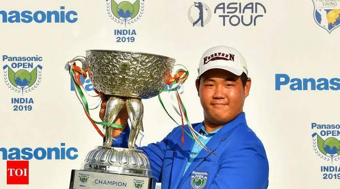 Korean teen sensation wins Panasonic Golf Open