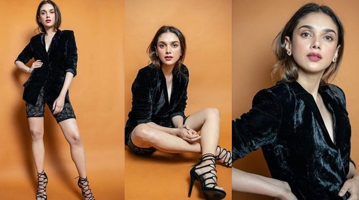Aditi Rao Hydari's black heels make a bold statement in latest photo