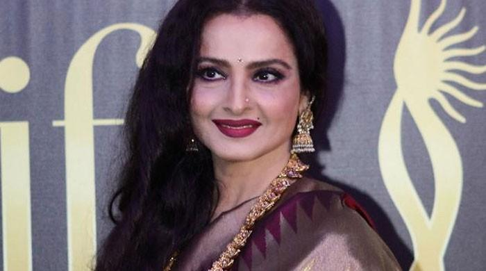Rekha receives ANR national honour: 'Always monitor what you feed to the brain'