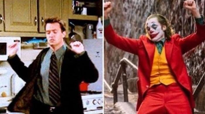 Did Joker steal his moves from Chandler in 'Friends'? Matthew Perry agrees