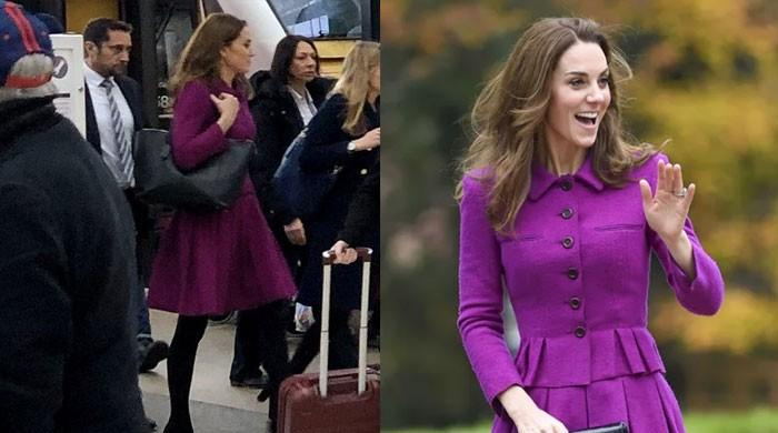 Kate Middleton rides the local train, leaves commuters startled