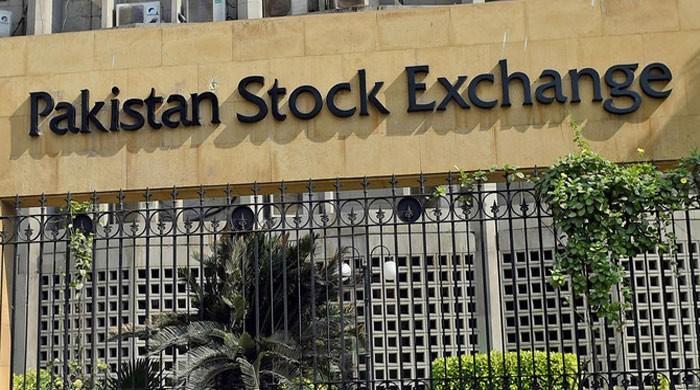 KSE 100 index gains 827 points