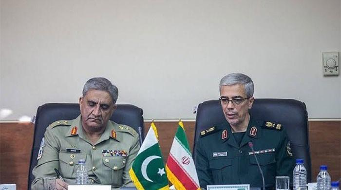 COAS meets Iranian armed forces chief in Tehran