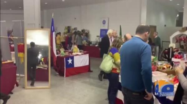 Geo News Special – The Pakistan Diplomatic Bazaar in Lisbon receives a positive response from the attendants.