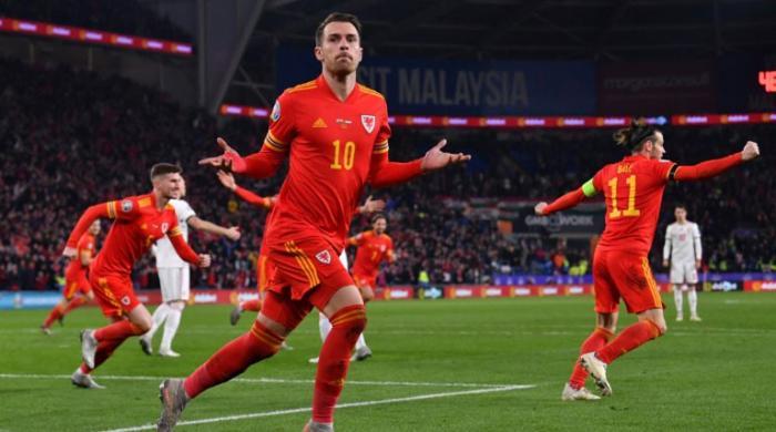 Aaron Ramsey's heroics fires Wales to Euro 2020