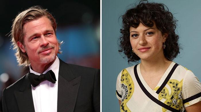 Brad Pitt sparks romance buzz with Alia Shawkat