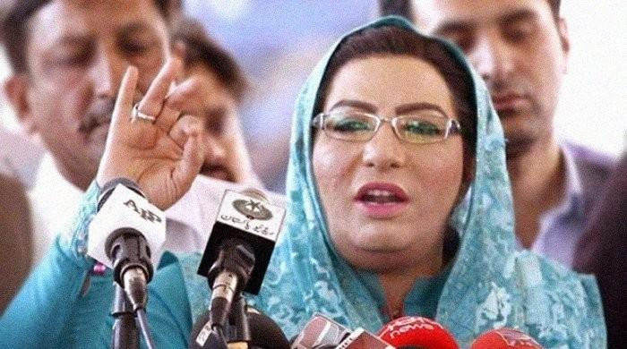 Fazl came empty handed and left empty handed: SAPM Firdous Ashiq Awan
