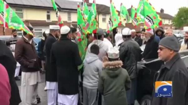 Geo News Special – Jashn Eid Miladun Nabi Procession Taken Out In Telford