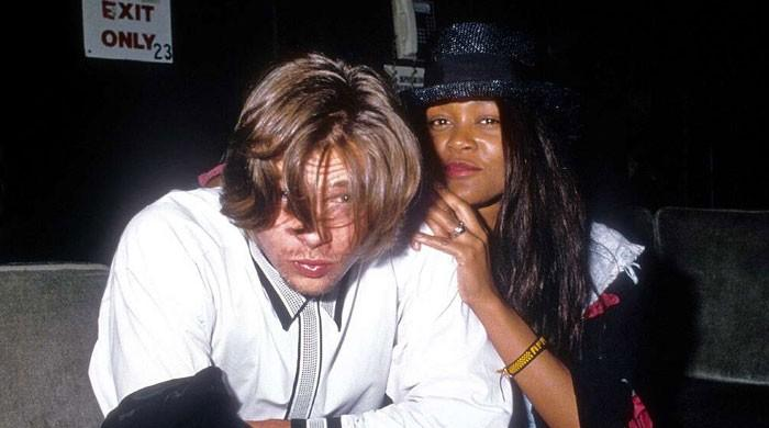 Dating Brad Pitt: Robin Givens dishes the details of their stormy 80's affair
