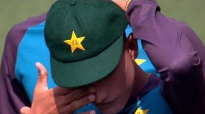 Teenage sensation Naseem Shah breaks down in tears as he is handed debut cap