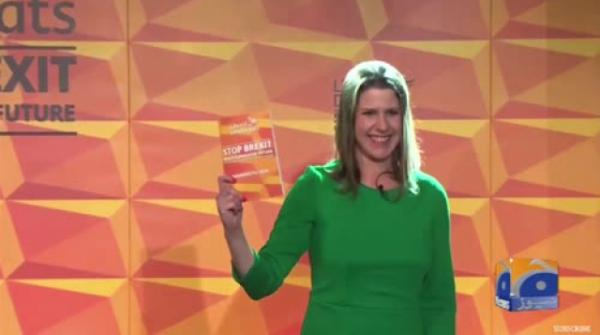 Geo News Special – Birmingham: Liberal Democrat Leader Jo Swinson Launches Party's Election Manifesto