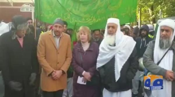 Geo News Special – 10th Annual Jashn Eid Miladun Nabi Procession Taken Out In Watford