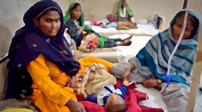 Nine more children die in Thar of malnutrition, other diseases