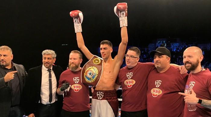 Hamza Sheeraz wins WBO super welterweight European title