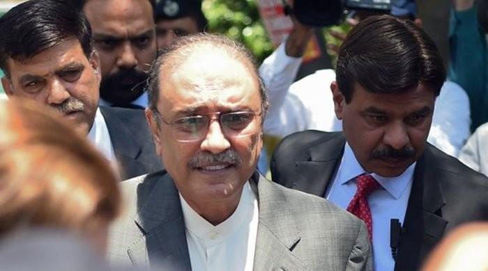 Zardari files bail plea in IHC on medical grounds