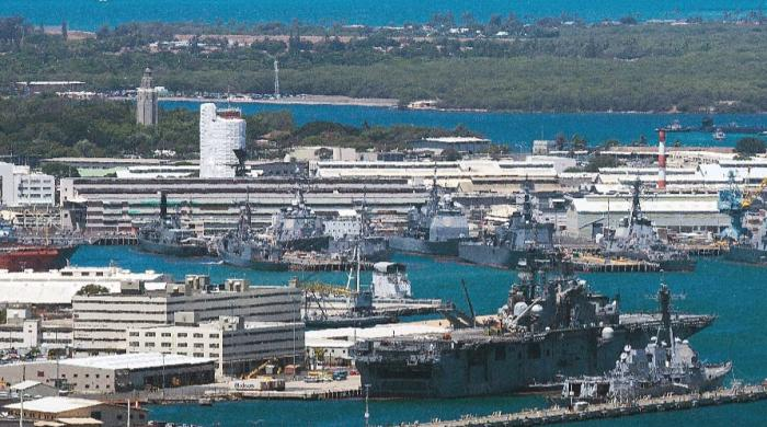 Two killed in Hawaii's Pearl Harbor base shooting