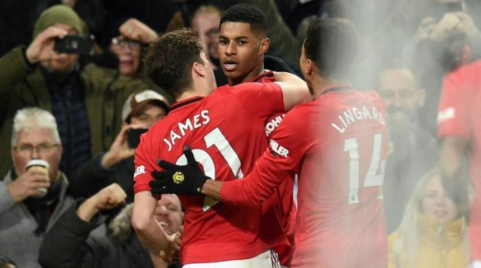 Rashford strikes twice as Man Utd end Mourinho's perfect start at Spurs