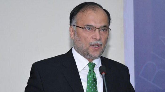 Ahsan Iqbal says incumbent govt is a 'comedy theatre'
