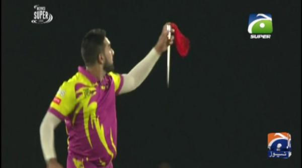 Spinner Tabraiz Shamsi's style of jubilation goes viral