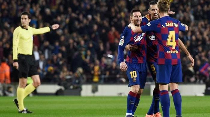 Messi hits his 35th La Liga hat-trick