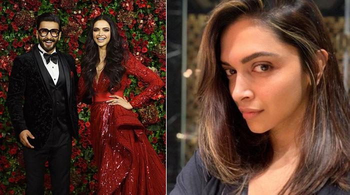Ranveer Singh's hilarious reaction to Deepika Padukone's new hair