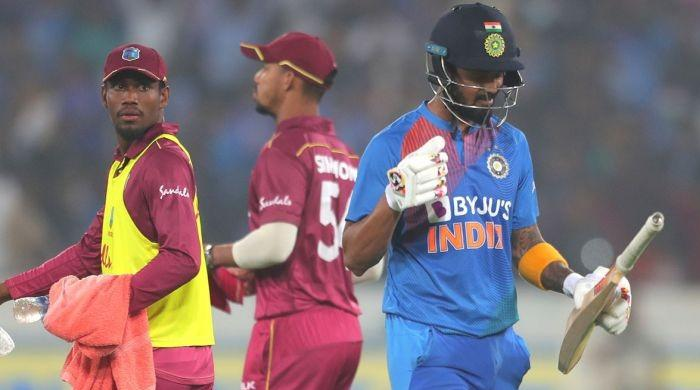 Second T20: West Indies choose to field first against India