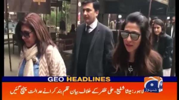 actor ali zafar files 100 crore defamation against meesha shafi