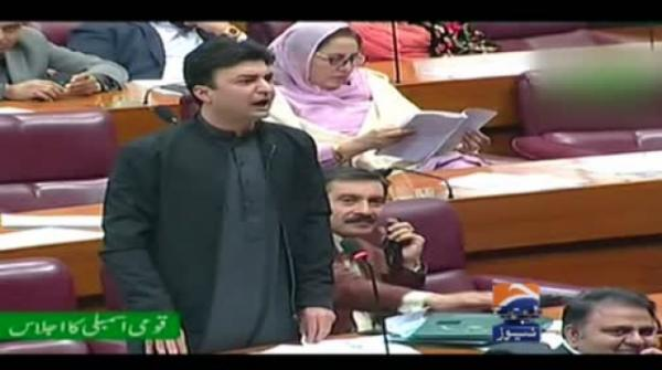 Being a federal minister how was Khawaja Asif taking salary as a labor in UAE: Murad Saeed