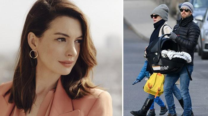 Anne Hathaway gives birth to second child?